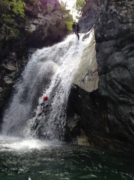 Traineeship canyoning  4 days