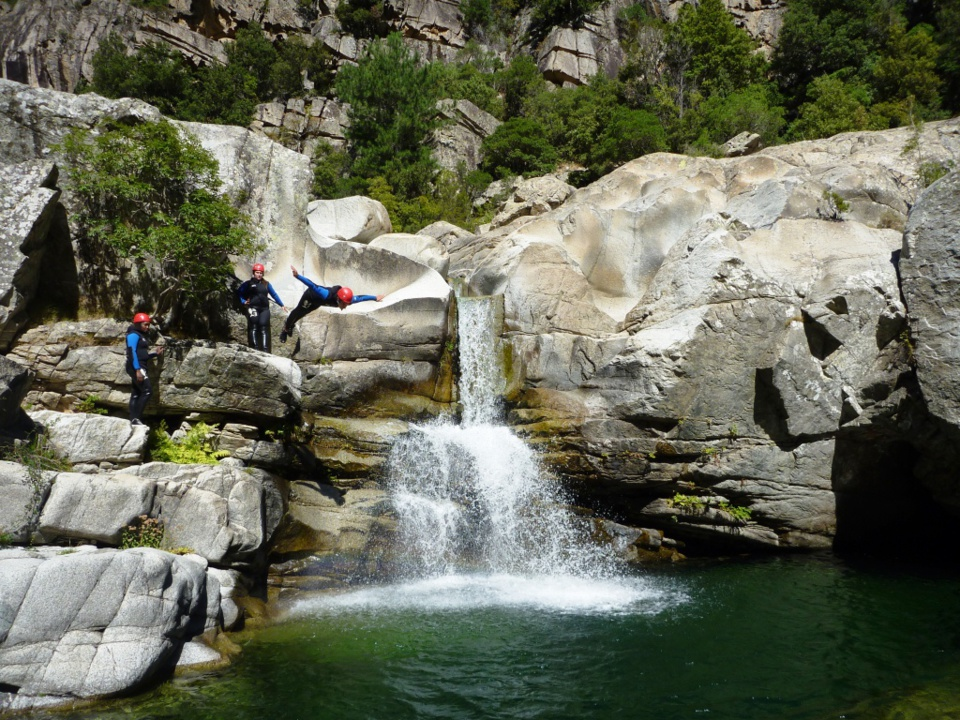 The Tavignanu Canyon
