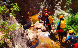 Traineeship canyoning  4 days